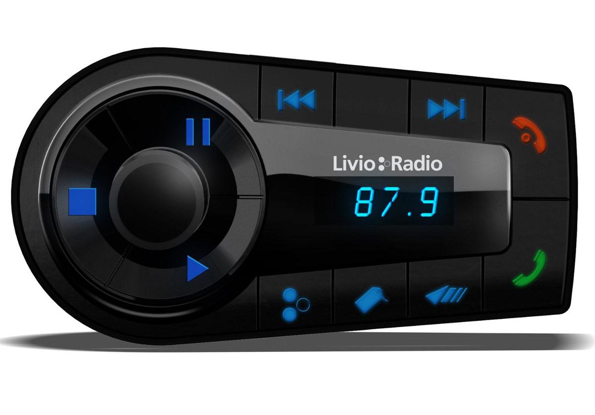 Car Stereo Bluetooth: Livio LVC02A Internet Radio Car Kit For IPhone And IPod