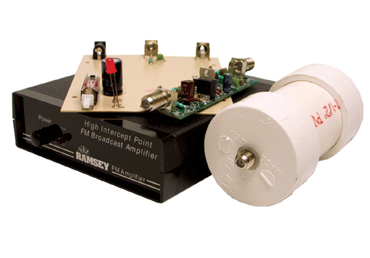 Ramsey FMBA1C Mast Mounted RF Amplifier Kit